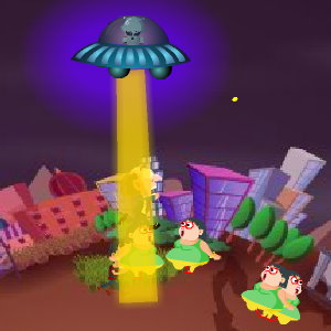 Alien Abductor: Collect Humans for Fun and Profit