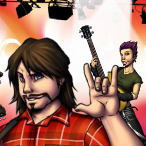 Battle of the Bands: Rock Band - Guitar Hero Game