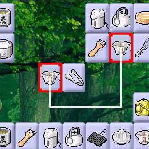 Connect 2 Matching Game: Kitchen Utensils