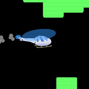 Copter Game: Cavern of Doom - How Far Can You Fly?