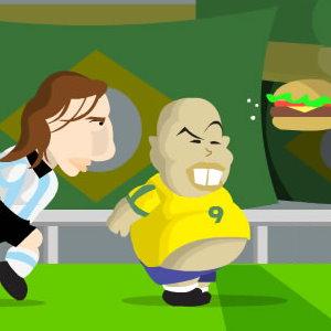 Fat Ronaldo's World Cup Dash: Run Ronaldo Run