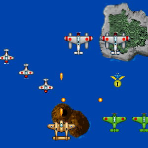 1945 Air Assault: Attack the Enemy Forces