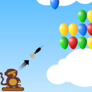 Bloons 1: Pop Some Balloons
