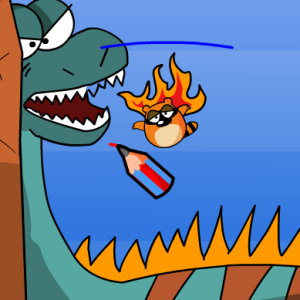 Bouncy Draw: Escape Dragon Canyon