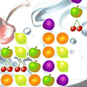 Falling Fruit - Tetris Style Game