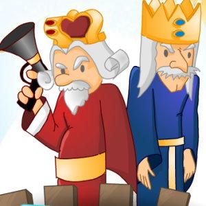 Kings Win: Destroy Red King's Ships