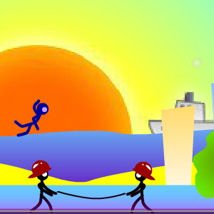 Save Me 2: Stickman City in Flames