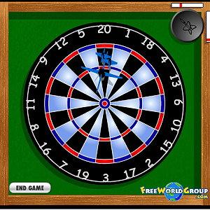 Bullseye Dart Game: Match Play