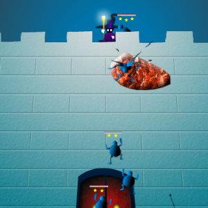 Castle Draw: Squash the Stickmen