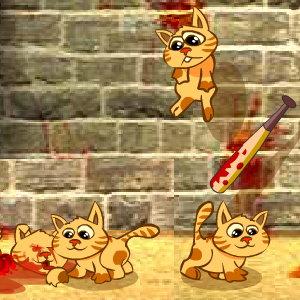 Cat Bat: Bounce the Kitties