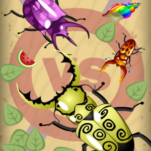 Evolution bug game