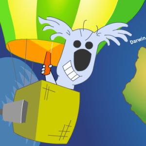 Koala Lander: Ballooning for Shrimp