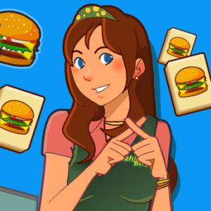 Mahjong Burger: Don't Drop Dinner