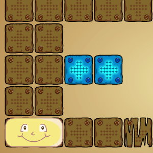 Blocky Logic Puzzle Game