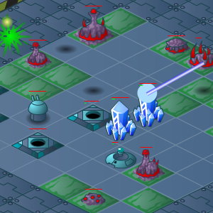 Chute Defense: Space Station Tower Defense Game