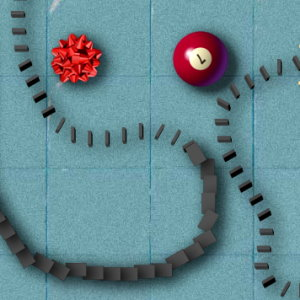 Domino Frenzy: Start a Chain Reaction