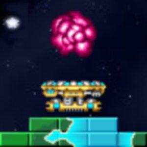 Brick Galaxy Asteroid Breakout